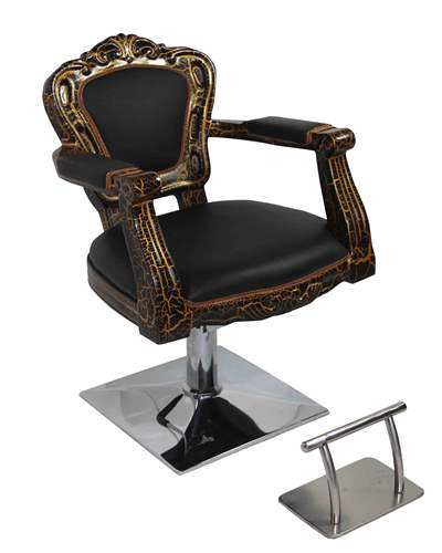 Antique styling barber chair
